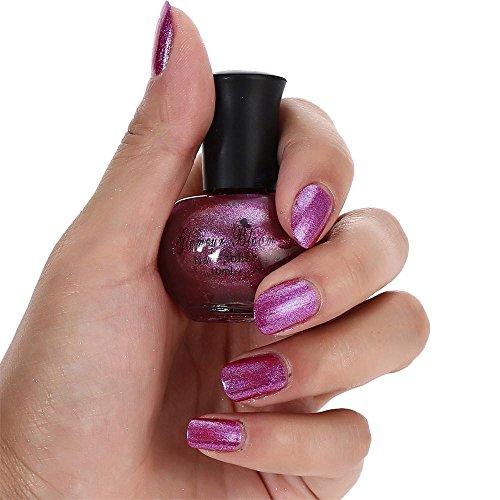 YUYOUG 10ml Nail Shining Chameleon Vernis à Ongles de Couleur Changeante Nail Art cosmétique polonais (E)