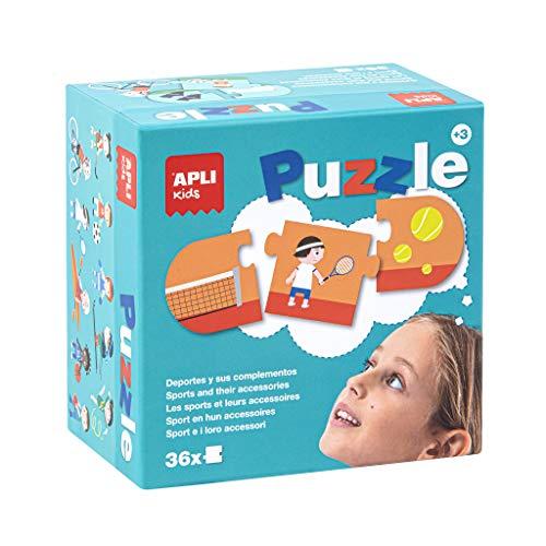 Kids   Deportes y Complementos Puzle, 36 Piezas, Multicolor, 17239