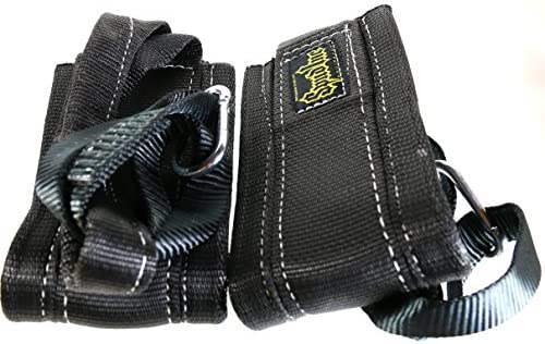 Spud Heavy Duty Hanging Abdominal Straps 1 Pair Ab Strap