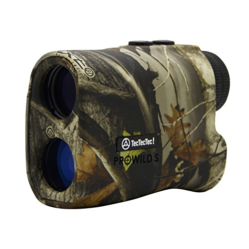 TecTecTec ProWild S with Angle Compensation - Laser Rangefinder for Hunting with Speed, Scan and Normal Measurements