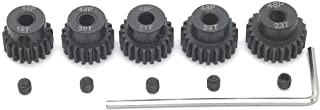 48P 19T 20T 21T 22T 23T Pinion Gear with Screw Driver for 3.175mm Shaft 1/10 RC Brushless Brush Motor by MakerDoIt