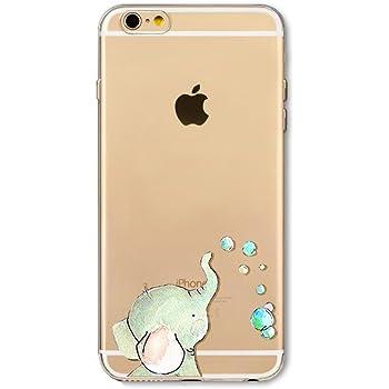 Felfy iPhone 8 H/ülle Silikon Transparent,iPhone 7 Case Muster,iPhone 8 H/ülle Durchsichtig Ultrad/ünne Durchsichtig TPU Gel Weich Silikon Slim Cover Niedlich K/ühle Katze Muster Bumper