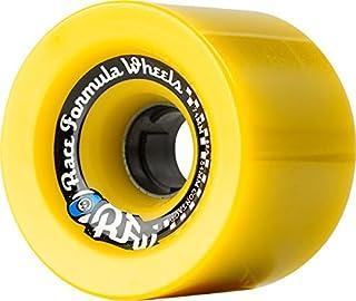 Sector 9 Race Formula 74mm 78a Yellow Offset Longboard Wheels