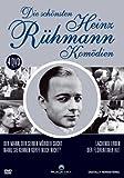 Die schönsten Heinz Rühmann Komödien - 4 DVD Box (Der Mann, der seinen Mörder sucht - Lachende Erben - Nanu, Sie kennen Korff nicht ? - Der Florentiner Hut)