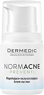 Dermedic Normacne Preventi 55g / 1.94oz regulating-Cleansing Night Cream