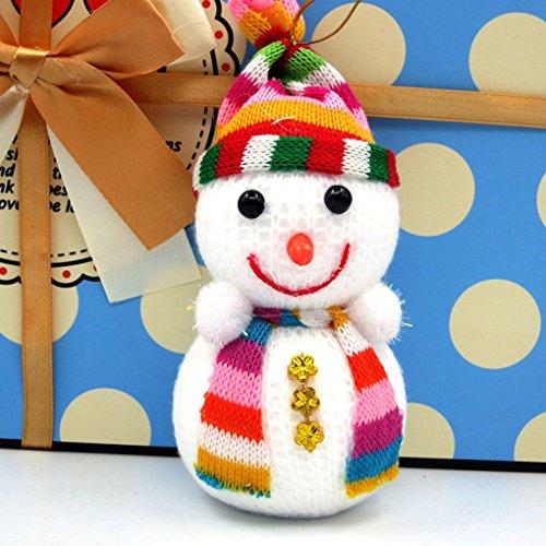 Aiming árbol de Navidad muñeco de Nieve muñeca de Juguete muñeca Navidad Decoraciones de Navidad S M L