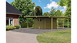 carport mit schuppen carport bausatz. Black Bedroom Furniture Sets. Home Design Ideas