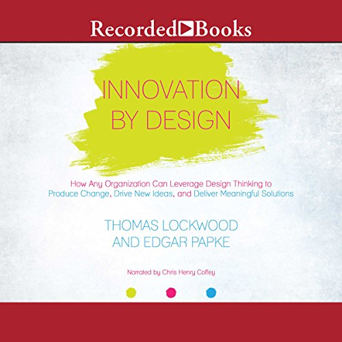 Innovation By Design audiobook cover art