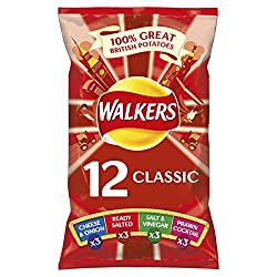 Walkers Classic Variety Crisps 25g
