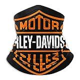 Mujeres Harley Davidson Logo Vector Mascarilla Unisex Multifunción Microfibra Cuello Calentador
