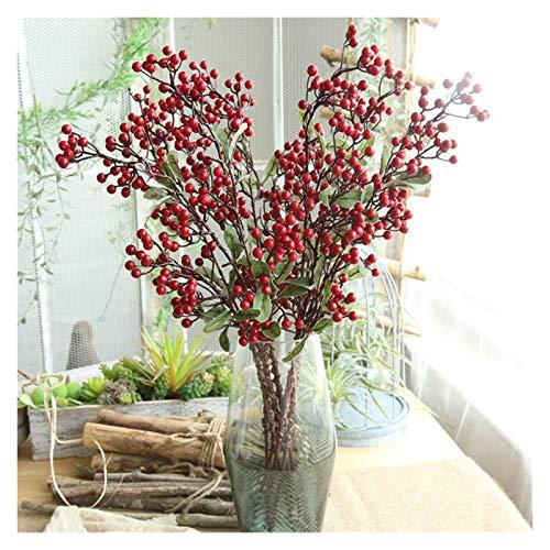 TAIYUANNT Künstliche Blumen Rote Beere...