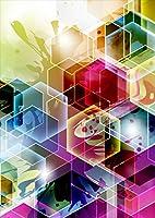 igsticker ポスター ウォールステッカー シール式ステッカー 飾り 841×1189㎜ A0 写真 フォト 壁 インテリア おしゃれ 剥がせる wall sticker poster 002111 クール カラフル キラキラ
