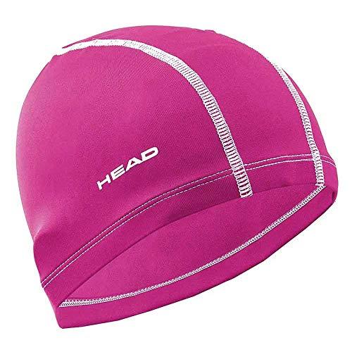 Head Cap Lycra - Gorro de Buceo Unisex, Color Rosa/Magenta