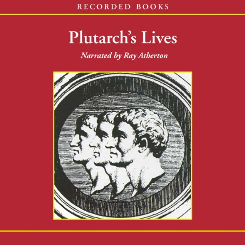 Plutarch's Lives audiobook cover art