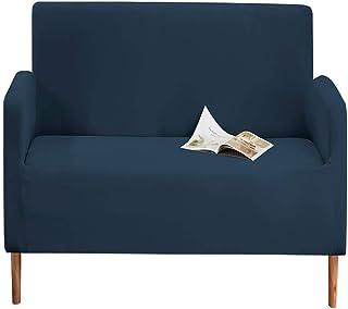 Trimming Shop Liso Funda Sofá - Padres Nuevo - Azul Marino, 2 Seater - 145x185 CM