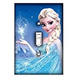 Elsa Frozen Decorative Single Toggle Light Switch Plate Cover