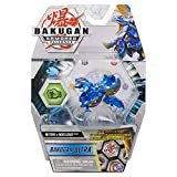 Bakugan Ultra, Fused Trox x Nobilious, 3-inch Tall Armored Alliance Collectible Action Figure and Trading Card