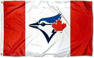 Toronto Blue Jays Canada Nation Logo Flag and Banner
