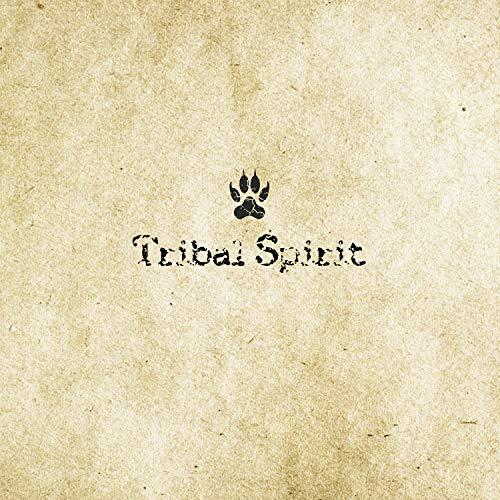 Tribal Spirit pendientes madera mandala acero inoxidable antiallergen schmuckrausch