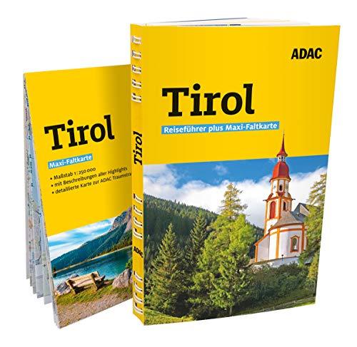 ADAC Reiseführer plus Tirol: mit Maxi-Faltkarte zum Herausnehmen
