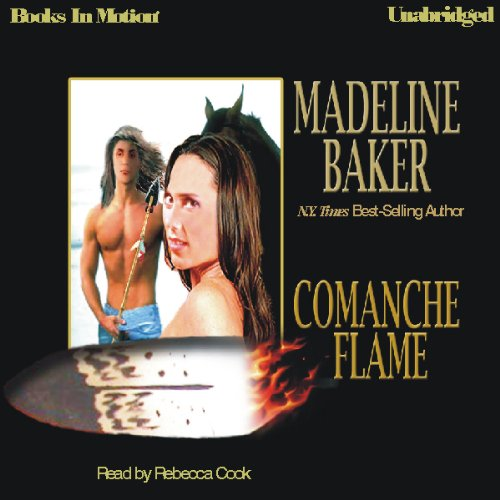 Comanche Flame audiobook cover art