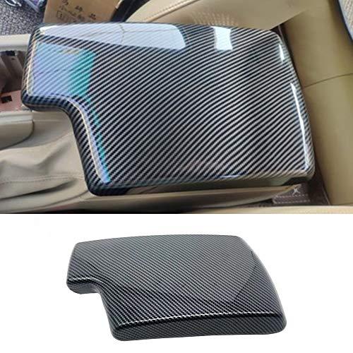 NA for BMW 3 Series E90 E91 E92 E93 2006-2012 ABS Carbon Fiber Color Car Interior Center Armrest Box Cover Console Box Storage Box Trim Covers (323i 325i 328i 330i 335d 335i 335is 335xi)