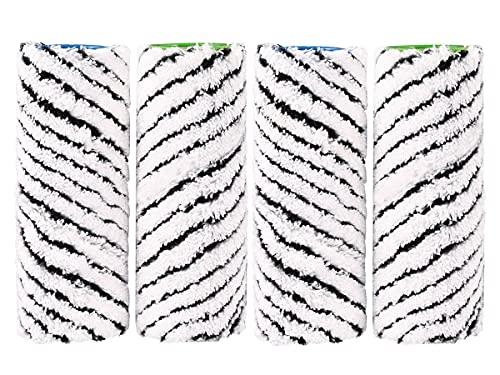 Odashen 4 cepillos de rodillos de piedra para Karcher FC7, FC7 Premium, FC5, FC 5 Premium, FC3 limpiador inalámbrico de piso, 2.055-021.0