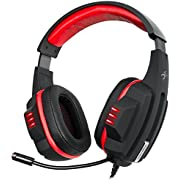 Sentey Harmoniq Pro Real 5.1 USB DAC Gs-4841 Pc Gaming Headset / 5.1 True (Not Virtual) 6 Driver and Subwoofer/ 3 Real Speakers Each Side Right and Left / Inline Volume Control with 6 Channel Volume Control / Microphone Retractable with Led Lights / Gold USB Universal for Any Pc or Laptop / 3 Meter All Heavy Duty Braided Cable / Drivers Diameters Front 30mm - Center 40mm - Rear 30mm - Subwoofer 27mm / Lightweight 462g / Manage Each Individual Channel Db Setting / 12 Preset Equalizer + User Defined Settings / Environment Setting for Better Pc Gaming Performance / Built in Vibration Unit - Wired