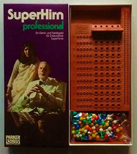 SuperHirn Professional. Ein Denk- und Taktikspiel für 2 bewährte Superhirne. Nr. 6111075.