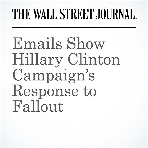 Emails Show Hillary Clinton Campaign's Response to Fallout cover art