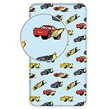 Disney Cars - Sábana bajera (90 x 200 cm), diseño de Cars