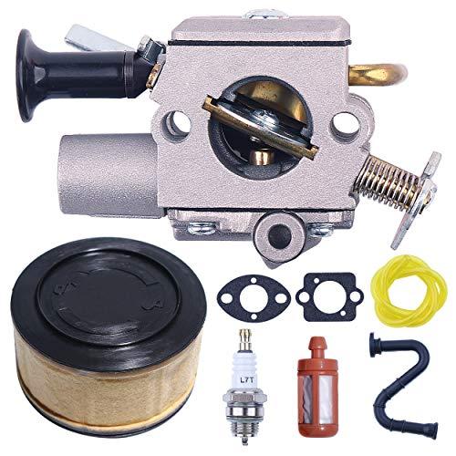 Mtanlo Carburetor Tune Up Maintenance Service Gaskets Kit for Stihl MS271 MS291 MS261 MS271C MS291C MS261C Chainsaw Part Zama Carb C1Q-S252