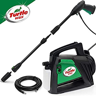 Turtle Wax TW110 Pressure Washer 110bar High-Pressure Washer 1400w from Turtle Wax