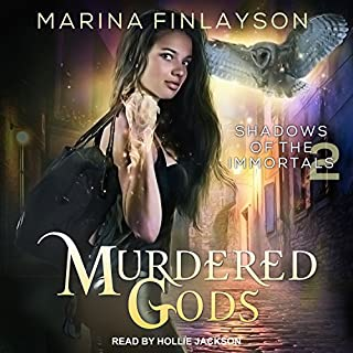Murdered Gods audiobook cover art