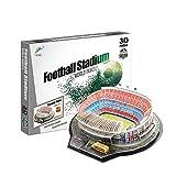 TKFY 3D Puzzle España Camp NOU Estadio Modelo Kits DIY Estadio de fútbol 3D de...