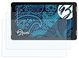 Bruni Schutzfolie kompatibel mit Trekstor SurfTab Theatre 13.3 Folie, glasklare Bildschirmschutzfolie (2X)