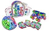 PJ Masks Set con Mochila, Mini Roller, Casco y Protecciones (Amijoc Toys 2939)