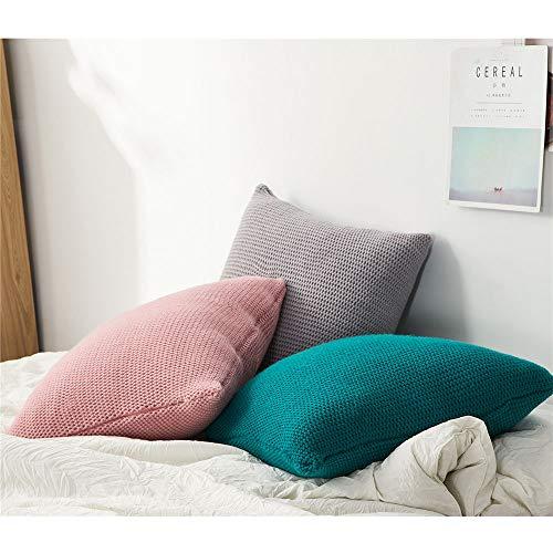 7777777 Kussen Breipatroon Kussenhoezen Vierkant Kussenhoezen voor Sofa Living Home Decor
