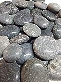 Der Naturstein Garten 5 kg polierte Kieselsteine 2,5-5 cm - Glanzkies Hot Stone Dekosteine Flusskiesel - Lieferung KOSTENLOS - 3