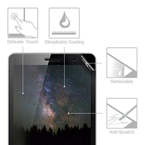 kwmobile 2x Huawei MediaPad T3 8.0 Folie - Full Screen Tablet Schutzfolie für Huawei MediaPad T3 8.0 entspiegelt - 2