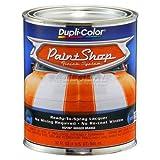 Dupli-Color Paint Shop Finish System Base Coat Hugger Orange 32 Oz. Quart - Lot of 2