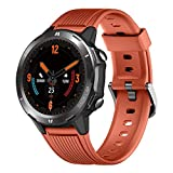 Smart Watch, Health Fitness Tracker with Heart Rate Monitor, 5ATM Waterproof Activity Tracker with Sleep Monitor, 1.3' Touch Screen Pedometer for Women and Men, Smartwatch for Android and iOS Phones