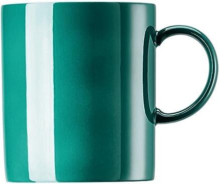 Preisvergleich für Rosenthal - Sunny Day - Henkelbecher - Kaffeebecher - Seaside Green / Türkis 0,4 l