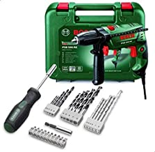 Bosch Hammer Drill with 27pcs Accessories & Screw Driver - PSB 500 RE