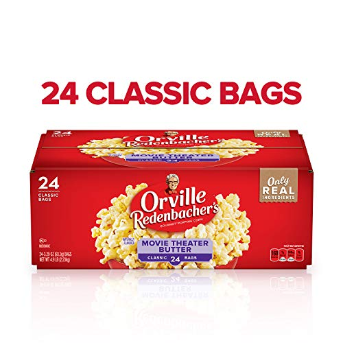 Great Deal! Orville Redenbacher's Movie Theater Butter Microwave Popcorn, 3.29 Ounce Classic Bag, 24...