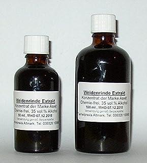 Asvet 100ml Weidenrinde Extrakt, Tropfen, Tinktur, Konzentrat