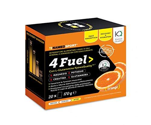 4 Fuel Sport - Named - Integratore alimentare a base di Sali Minerali e Aminoacidi con Edulcorante