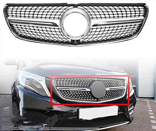 51wzUSPDjxL - MJZYP Auto Front Kühlergrill Kühler Zubehör, Car Frontstoßstange Grille Zubehör Für Mercedes E-Klasse W207 E200 E260 E300 2010-2013 Modifiziertes Dekoratives Zubehör