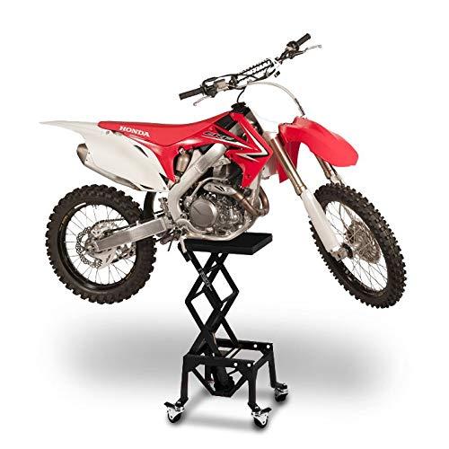Caballete Elevador ConStands Moto Cross Lift XL + Ruedas Negro