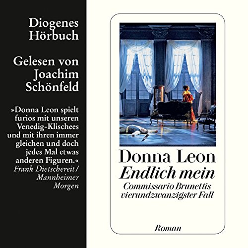 Endlich mein (Guido Brunetti 24) audiobook cover art